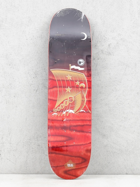 Deck Real Davis Starboard (black/red)