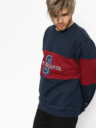 Bluza New Era World (navy/maroon)