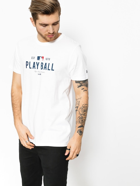 T-shirt New Era MLB Slogan (white)