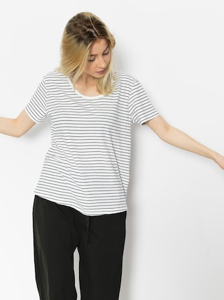 T-shirt Roxy Just Simple Stripe Wmn (dress blue just simple stripe)