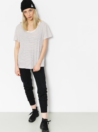 T-shirt Roxy Just Simple Stripe Wmn (tandoori spice just simple str)