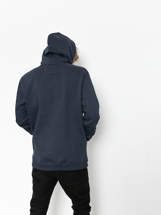 Bluza z kapturem Quiksilver Hood Embossed HD (blue nights)