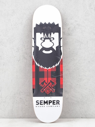 Deck Semper Skateboards Lumberjack (red)