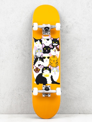 Deskorolka Enjoi Cat Collage V2 (orange)