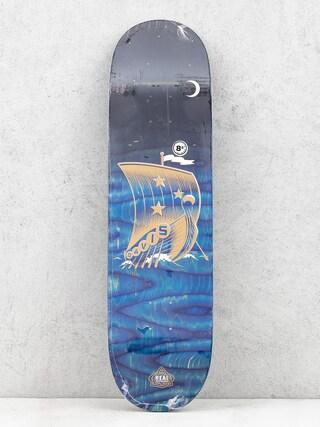 Deck Real Davis Starboard (black/blue)