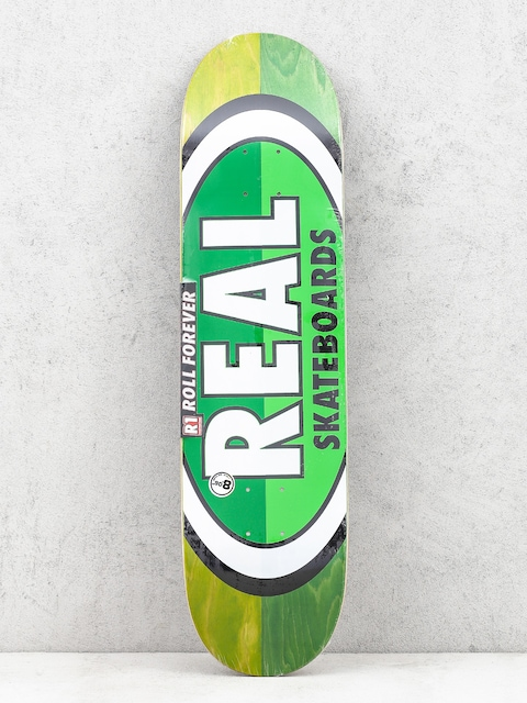 Deck Real Brd 50 50 Oval (green/green)