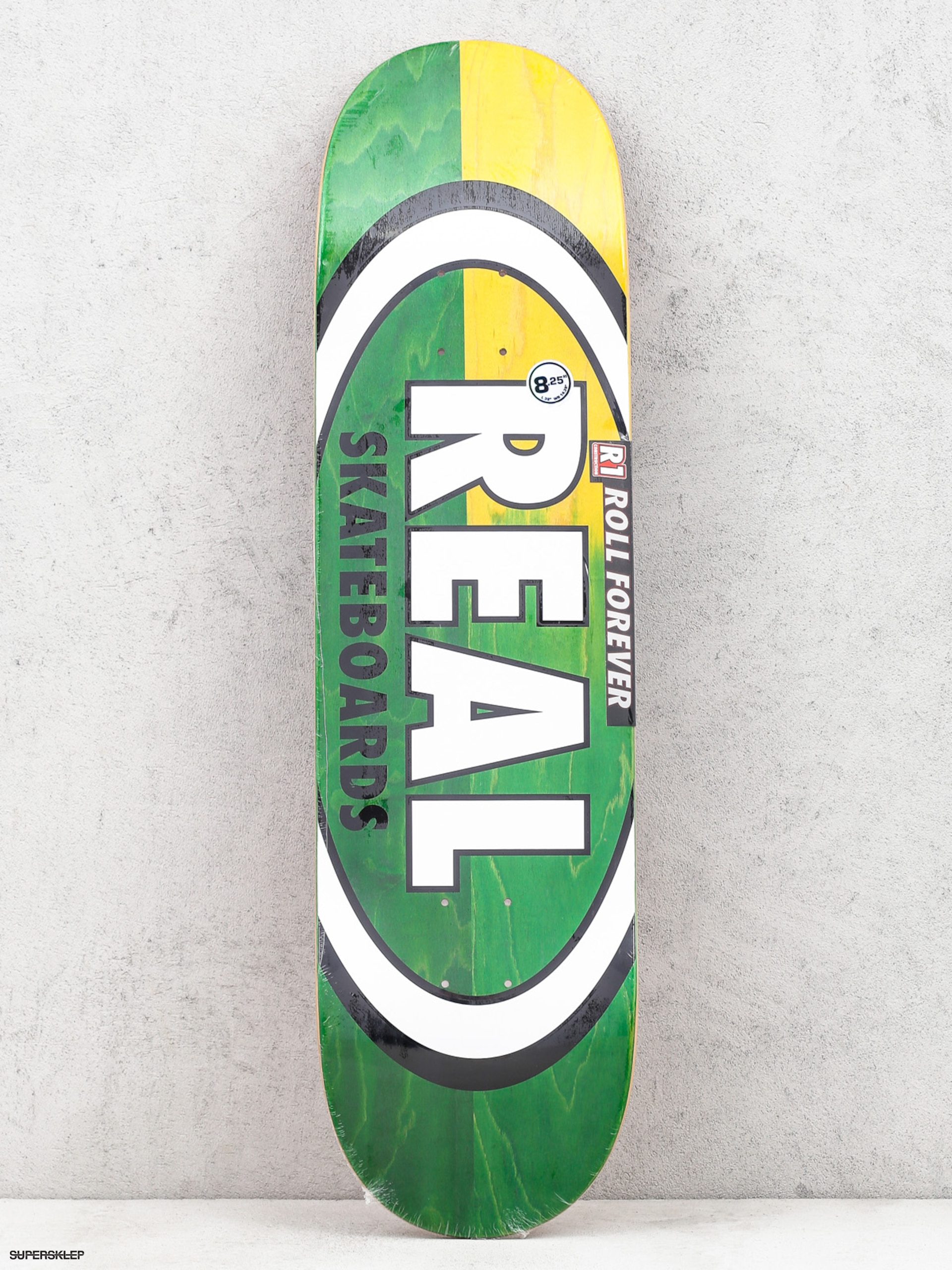 Deck Real Skinny Dip Oval (green/yellow/white)