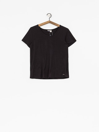 T-shirt Roxy Just Simple Wmn (anthracite)