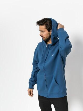 Bluza z kapturem Stussy Basic Stussy ZHD (cool blue)