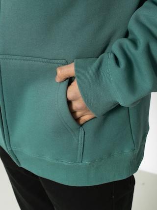 Bluza z kapturem Stussy Basic Stussy ZHD (sage)