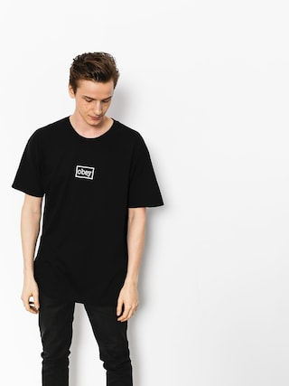 T-shirt OBEY Obey Typewritter (blk)