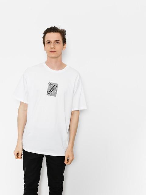 T-shirt OBEY Obey Swirl (wht)