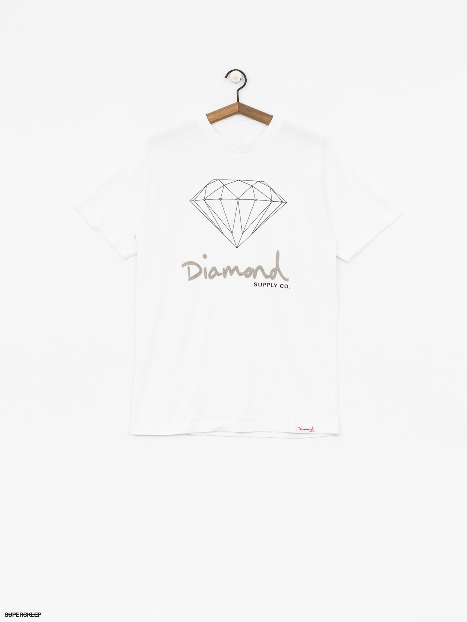 T-shirt Diamond Supply Co. Og Sign