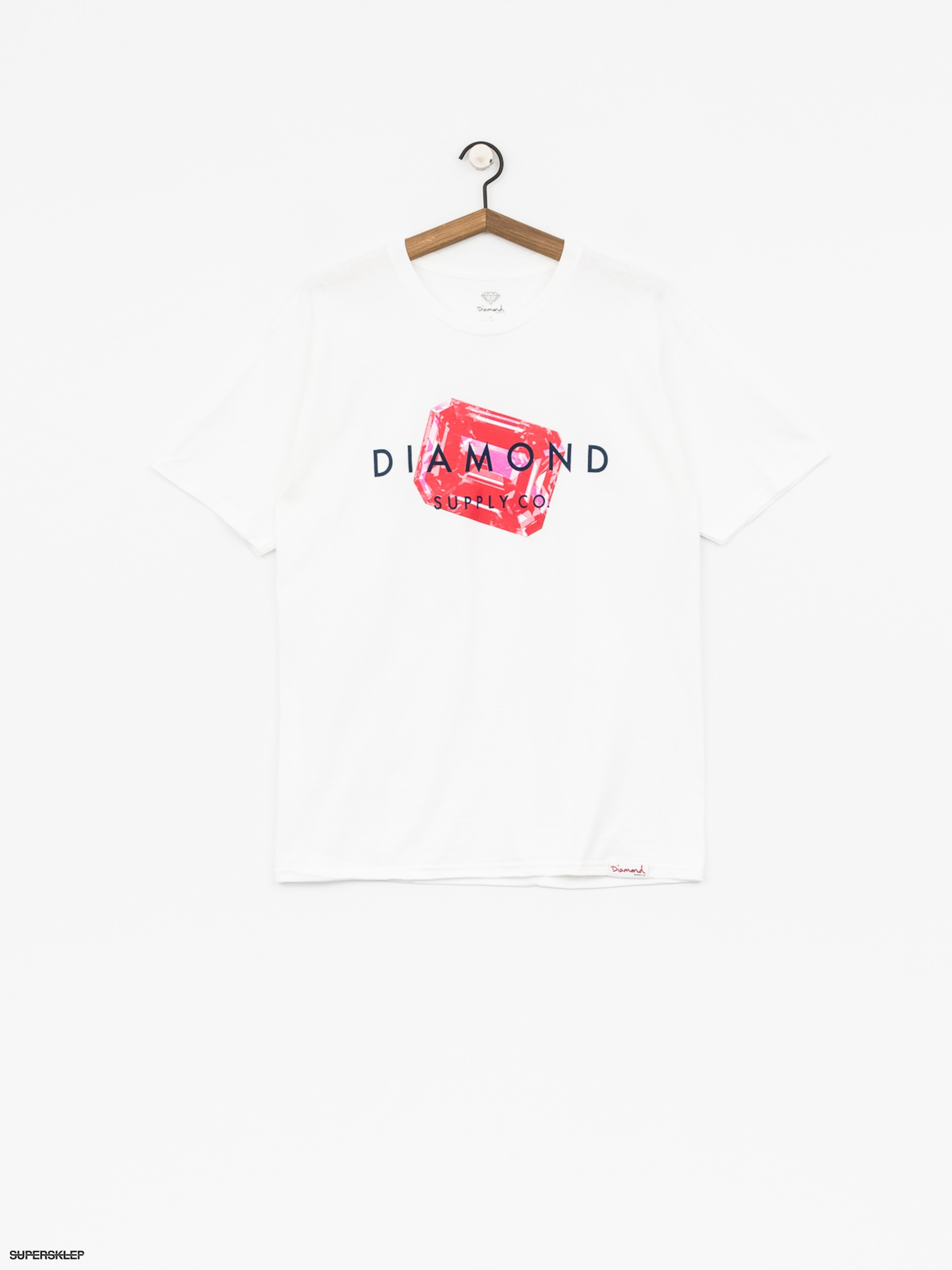 T-shirt Diamond Supply Co. Radiant Stone