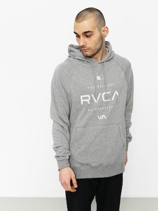 Bluza z kapturem RVCA Lock In HD (grey noise)