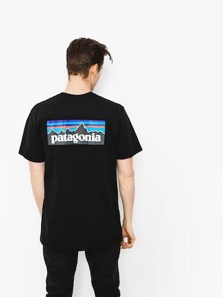 T-shirt Patagonia Logo Responsibili (black)