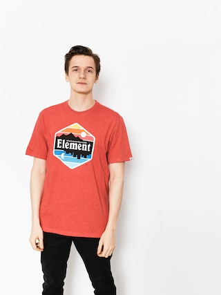 T-shirt Element Dusk (aurora red hthr)