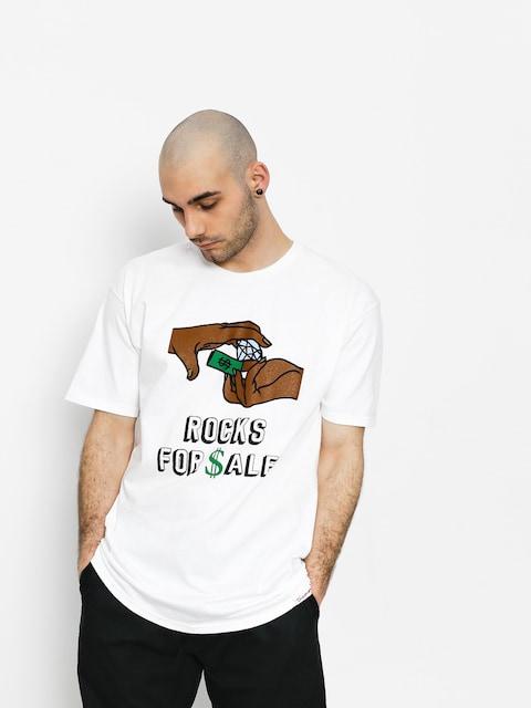 T-shirt Diamond Supply Co. Dealer (white)
