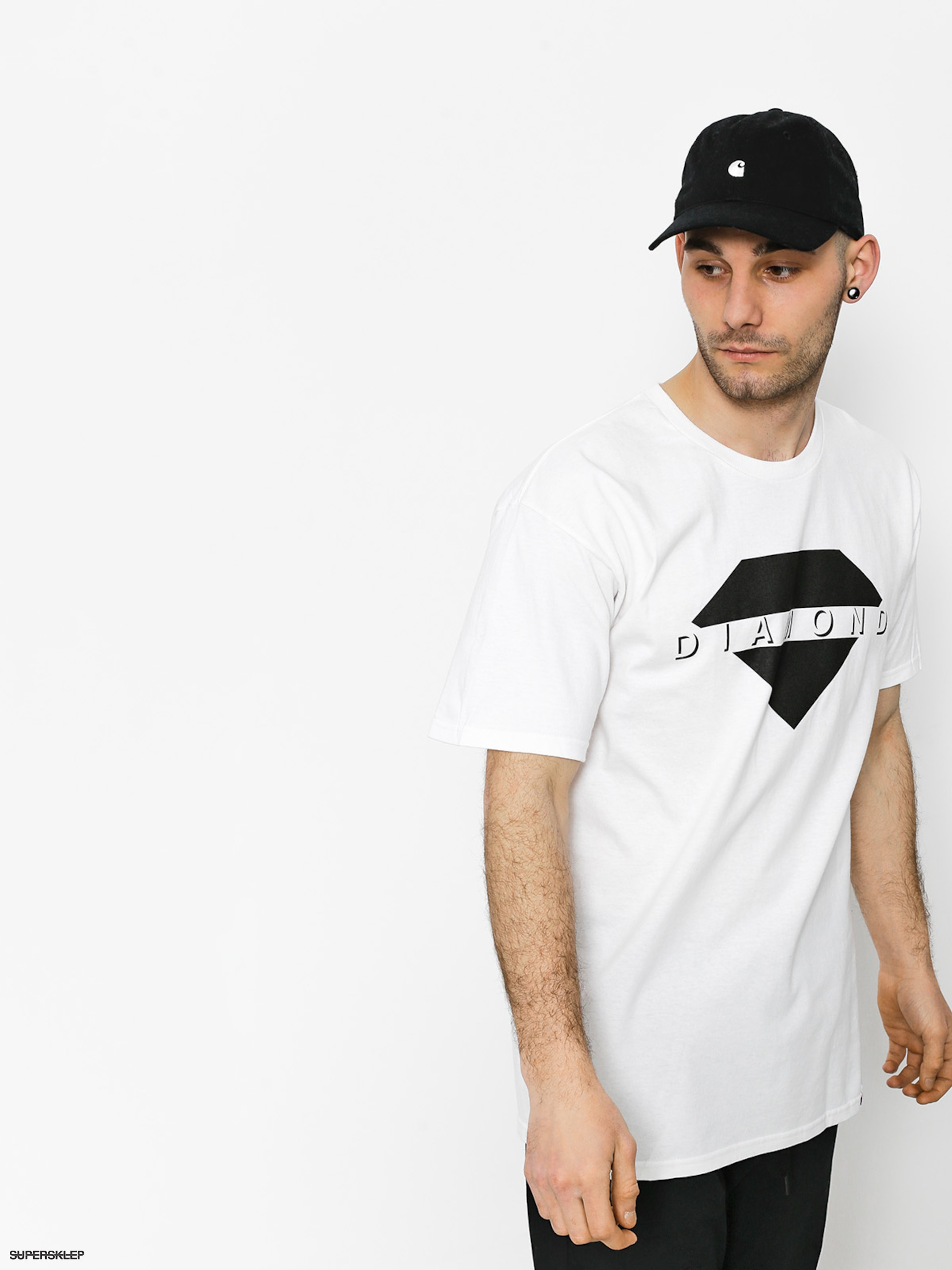T-shirt Diamond Supply Co. Viewpoint (white)