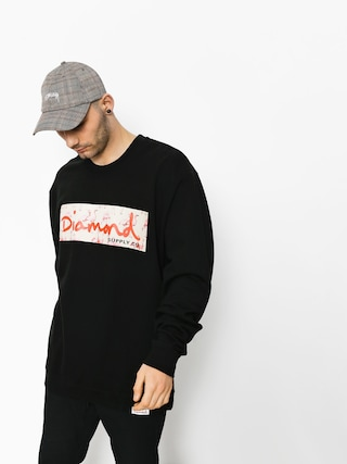 Bluza Diamond Supply Co. Flamingo Box Logo (black)