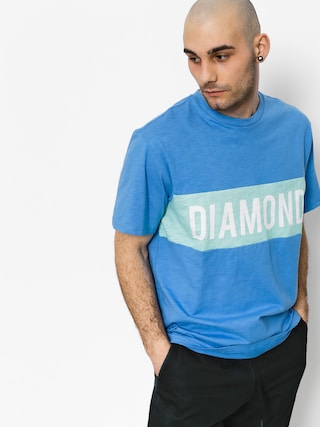 T-shirt Diamond Supply Co. Elliot (blue)