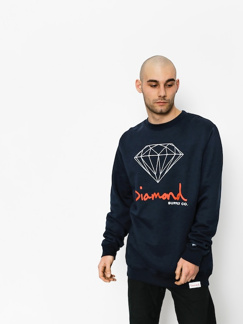 Bluza Diamond Supply Co. Og Sign (navy)