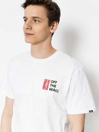 T-shirt Vans Off The Wall III (white)