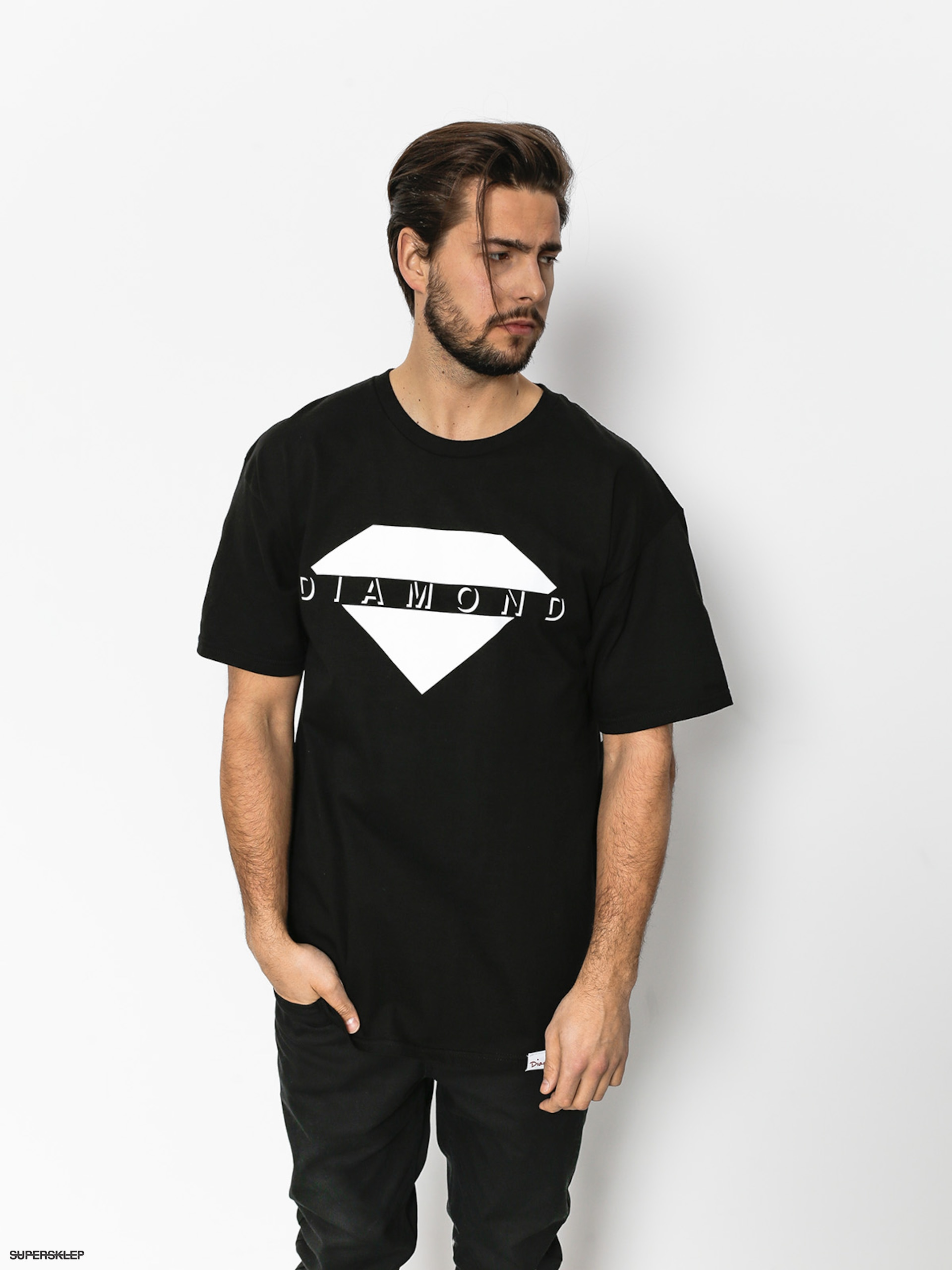 T-shirt Diamond Supply Co. Viewpoint (black)