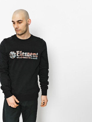 Bluza Element Horizontal Fill Crew (flint black)