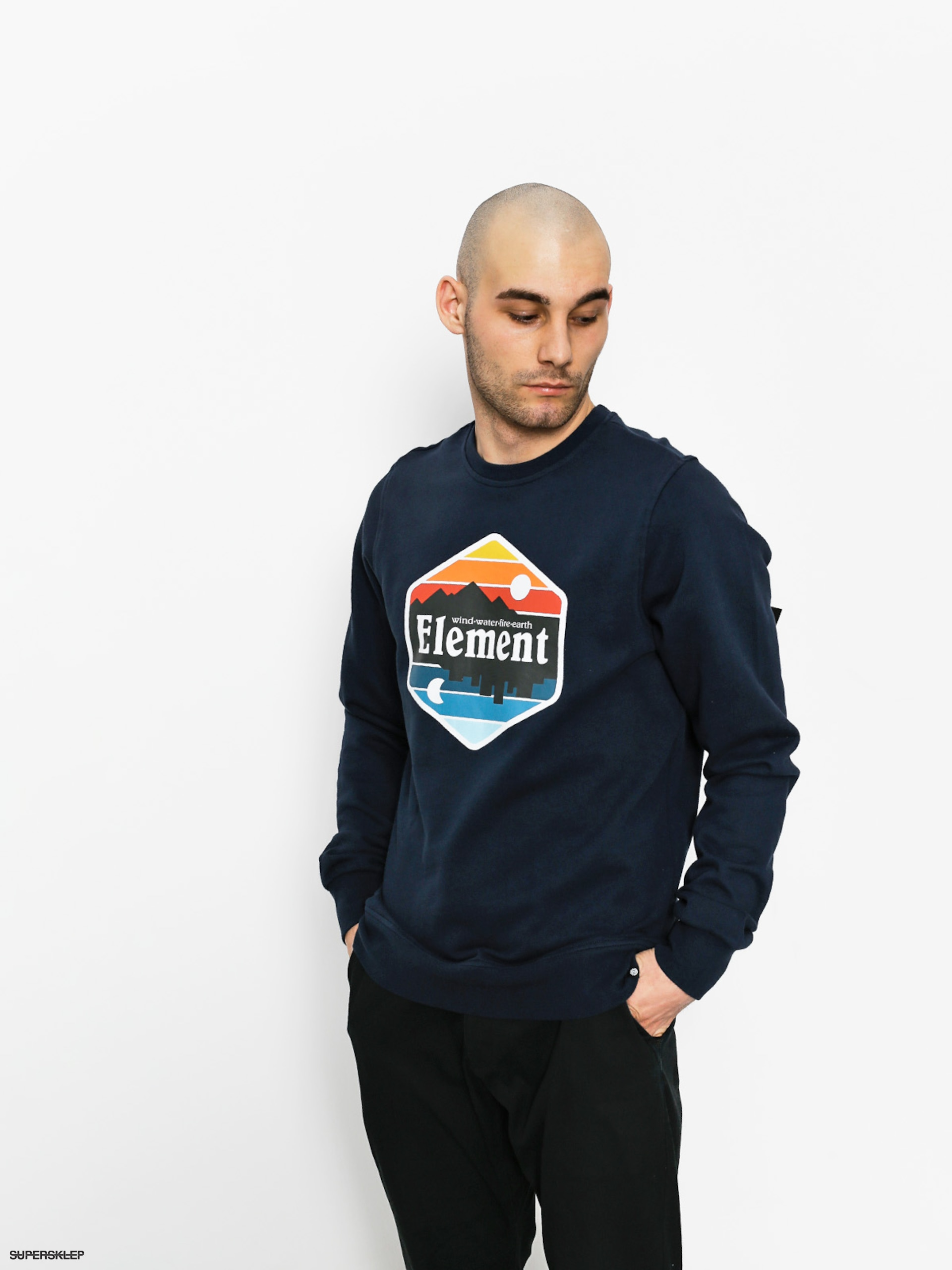 Bluza Element Dusk Crew (eclipse navy)
