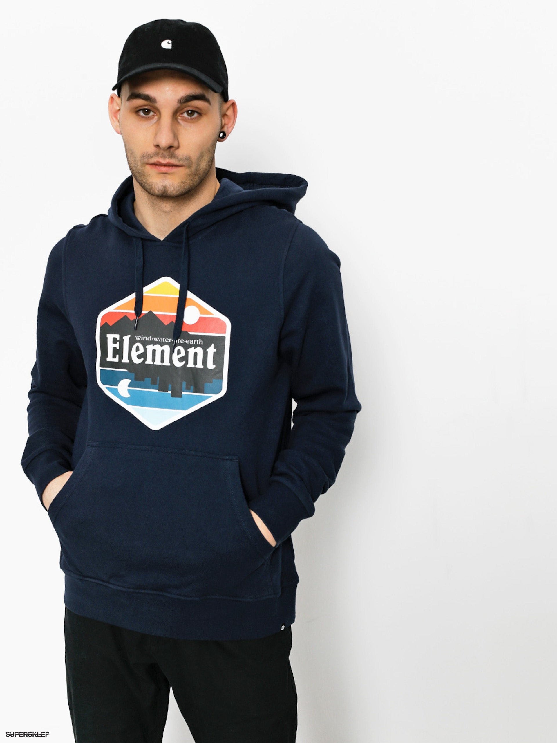 Bluza z kapturem Element Dusk HD (eclipse navy)