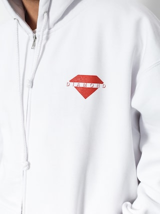 Bluza z kapturem Diamond Supply Co. Viewpoint ZHD (white)