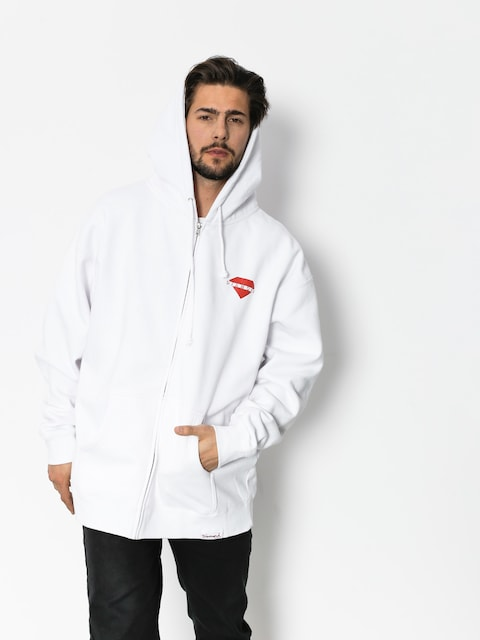 Bluza z kapturem Diamond Supply Co. Viewpoint ZHD (white)
