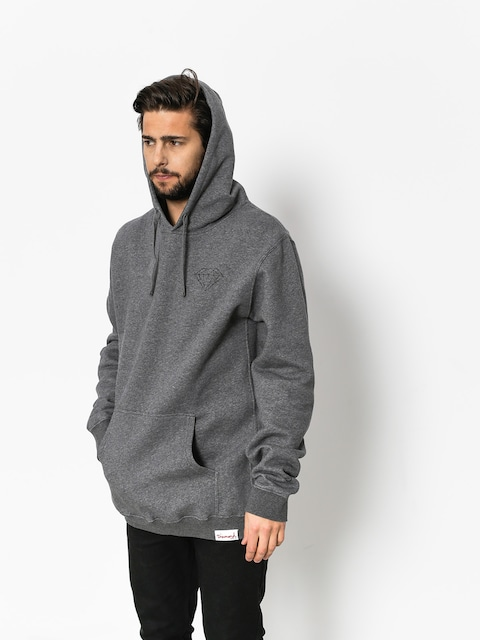 Bluza z kapturem Diamond Supply Co. Brilliant HD (gunmetal heather)