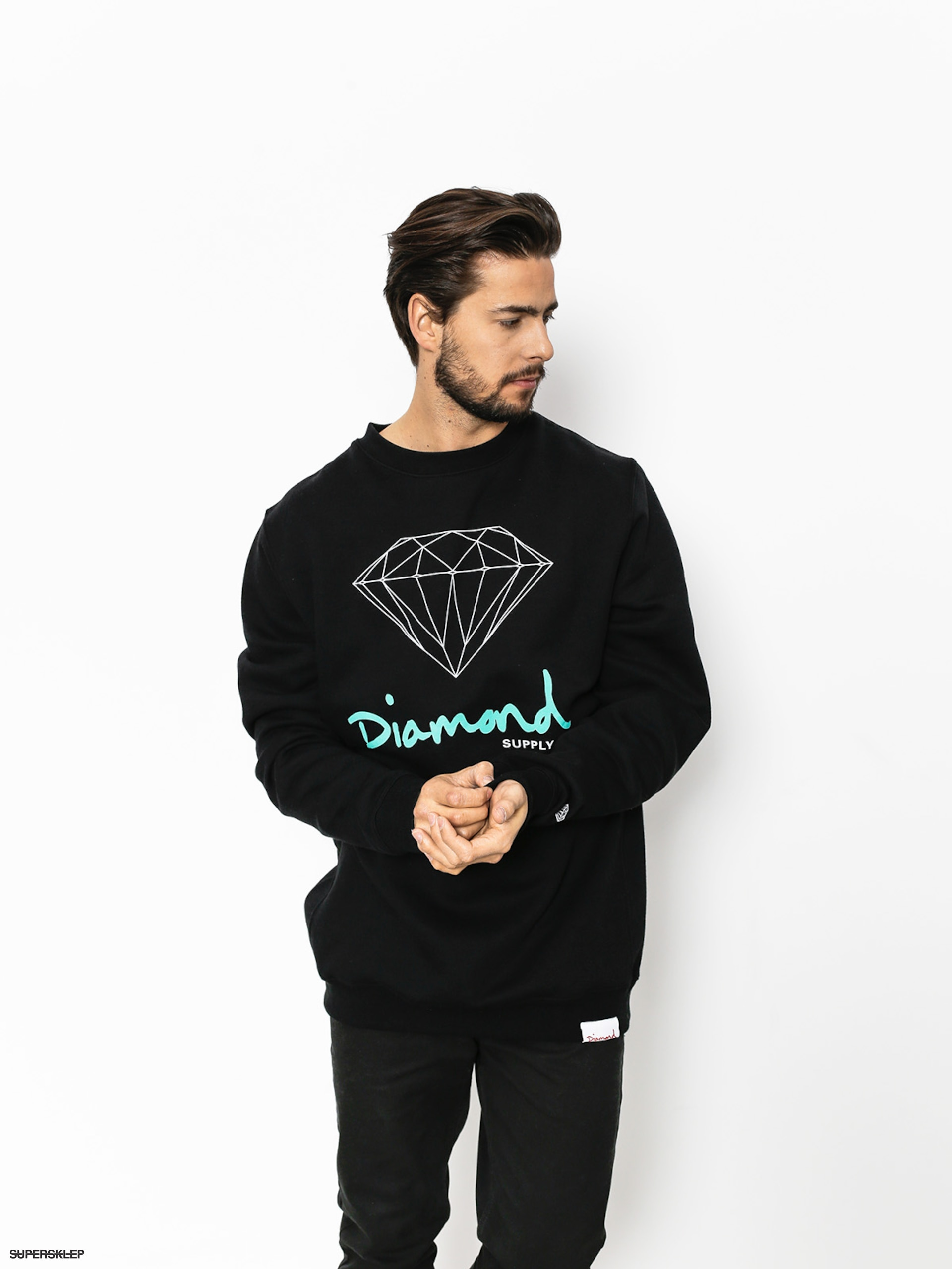 Bluza Diamond Supply Co. Og Sign (black)