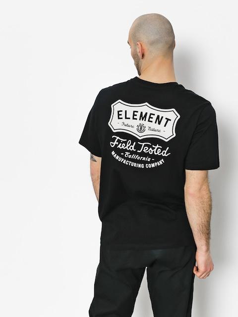 T-shirt Element Hide Pocket (flint black)