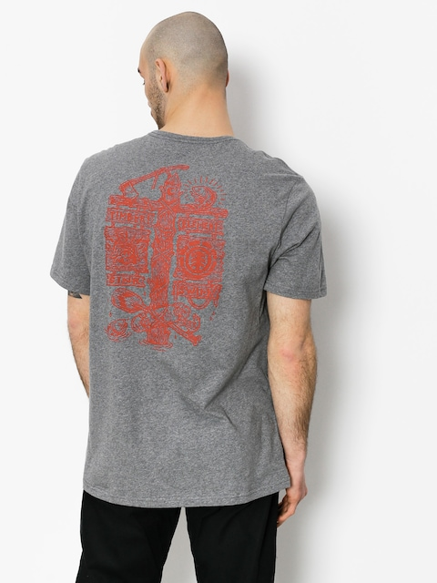 T-shirt Element Hooked (grey heather)