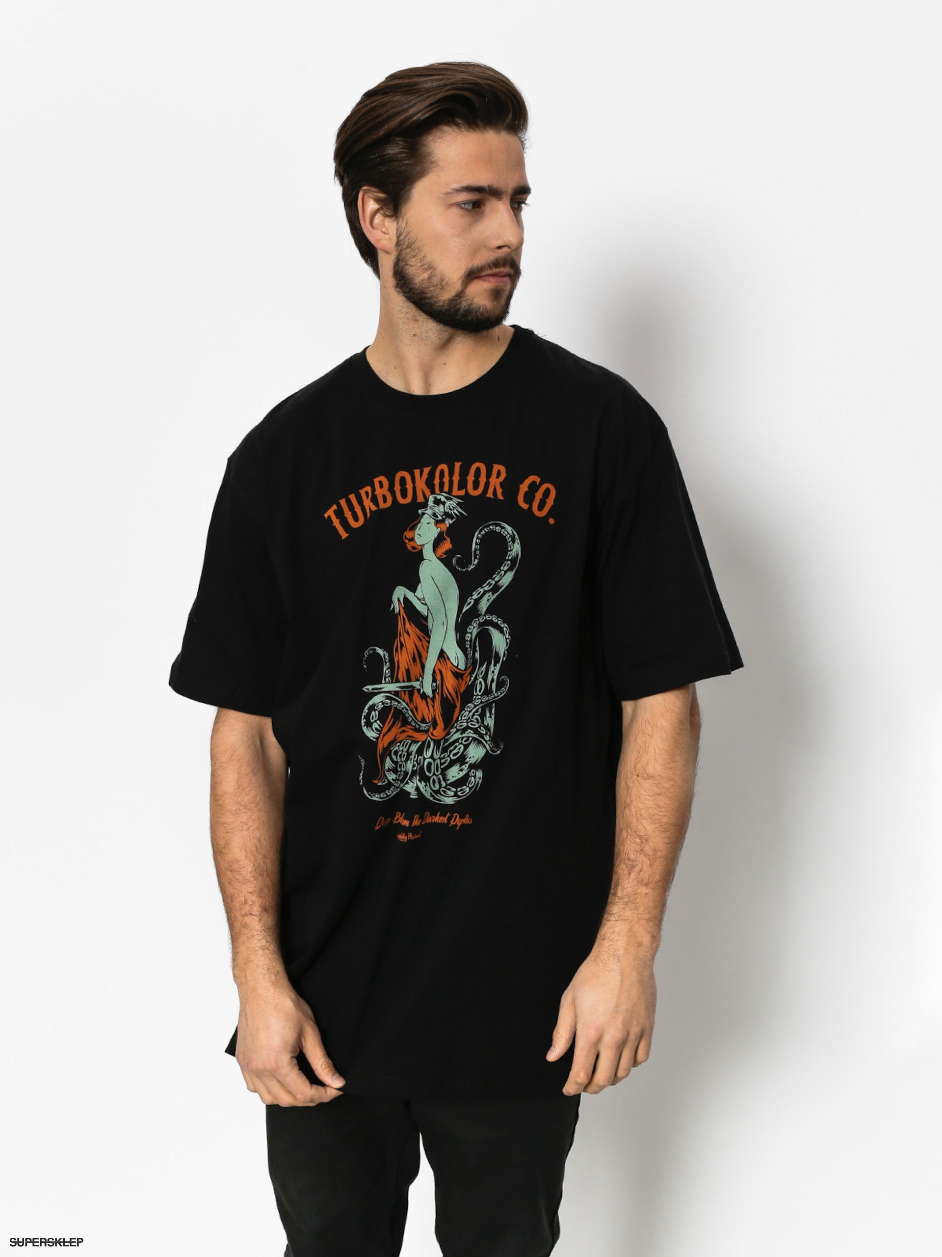 T-shirt Turbokolor Depths (black)