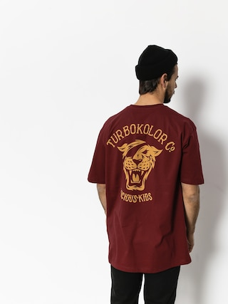 T-shirt Turbokolor Og (burgundy)