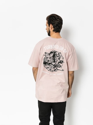T-shirt Turbokolor Shaka (pink)