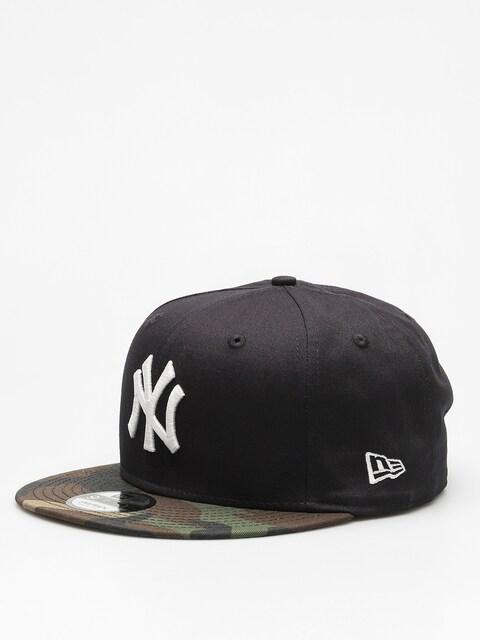 Czapka z daszkiem New Era Team Camo 950 New York Yankees ZD (navy/woodland camo)