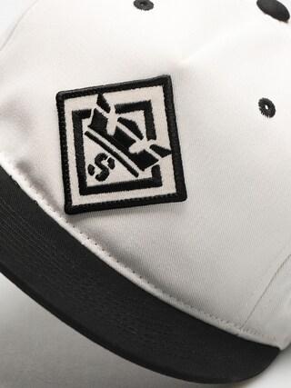 Czapka z daszkiem Supra Stncl Ptch Slidr ZD (black/white)