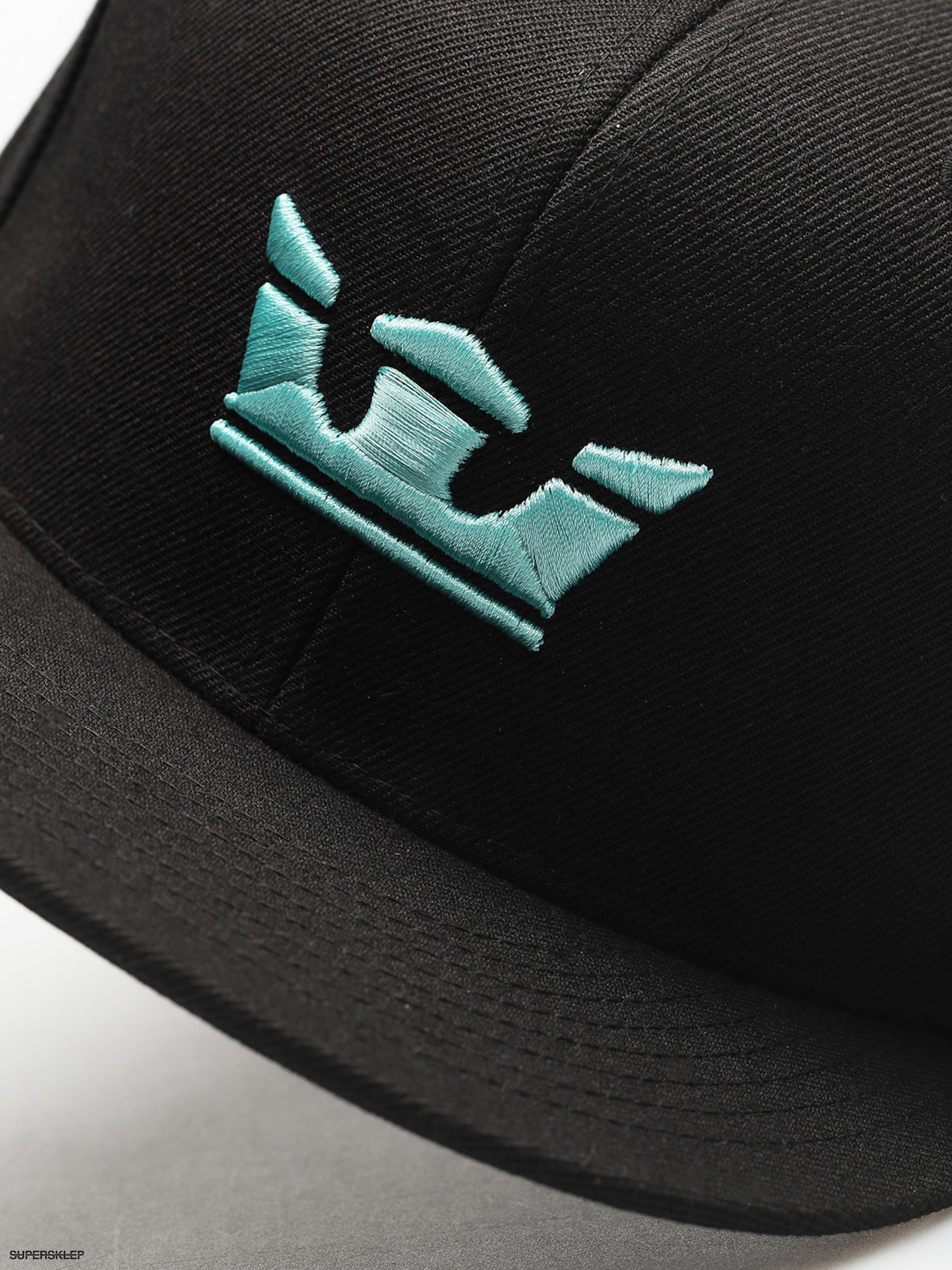 Czapka z daszkiem Supra Icon Snap ZD (black aqua) 708af9942b