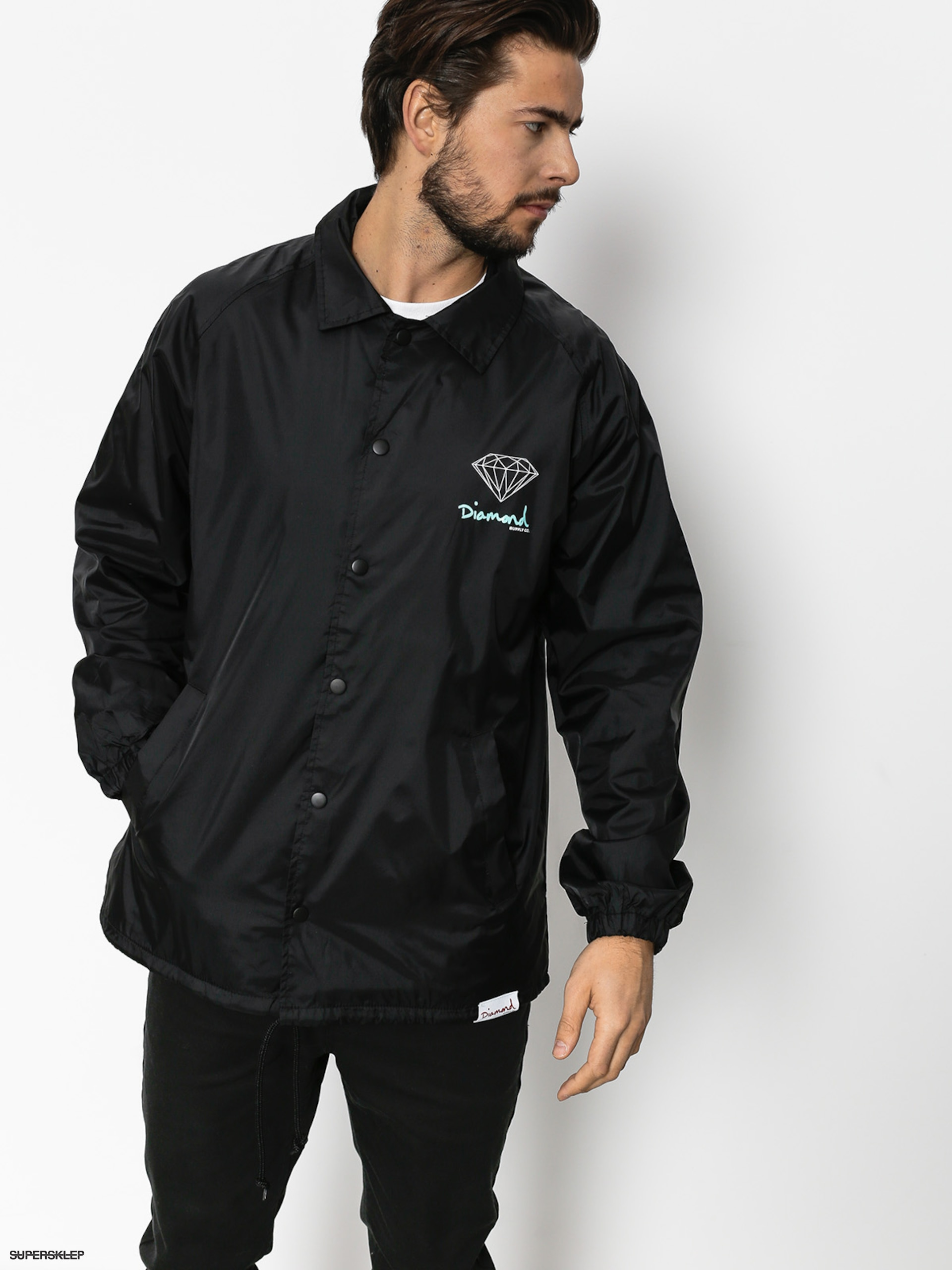 Kurtka Diamond Supply Co. Og Sign Coach (black)