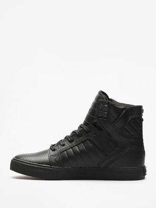 Buty Supra Skytop (black/black red)