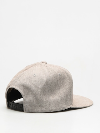 Czapka z daszkiem Supra Icon Snap ZD (grey heather)