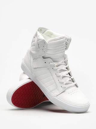 Buty Supra Skytop (white/white red white)