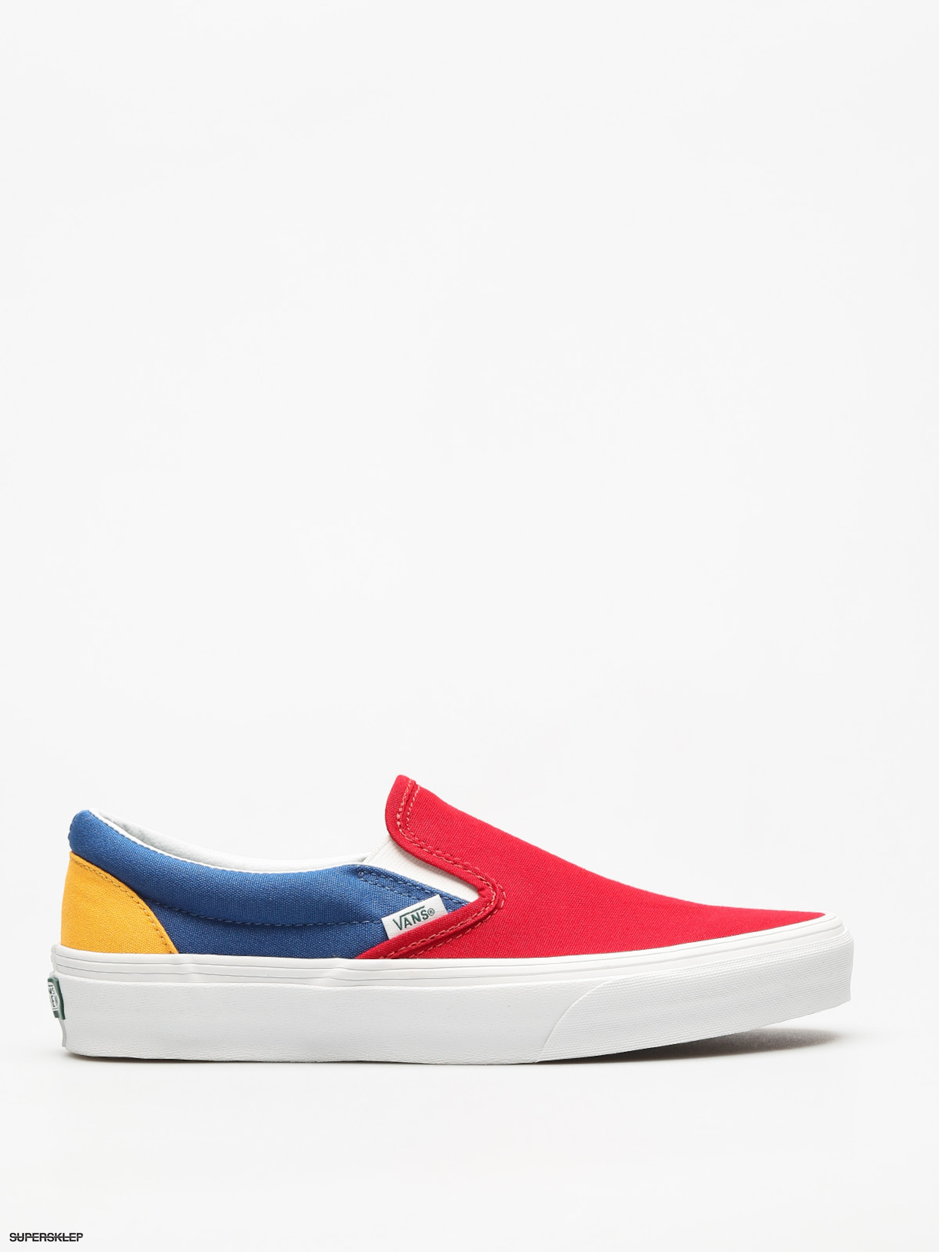 Buty Vans Classic Slip On (vans/yacht/club/red/blue/yellow)