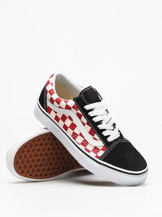 Buty Vans Old Skool (checkerboard/black/red)
