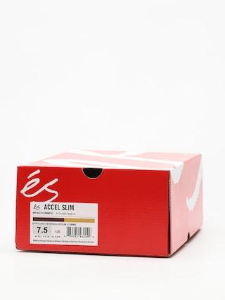 Buty Es Accel Slim (burgundy/gum)